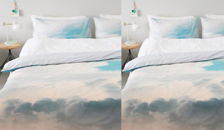 Slaapkamer Slaap Wolken : Helemaal in de wolken met dit dekbedovertrek interior junkie