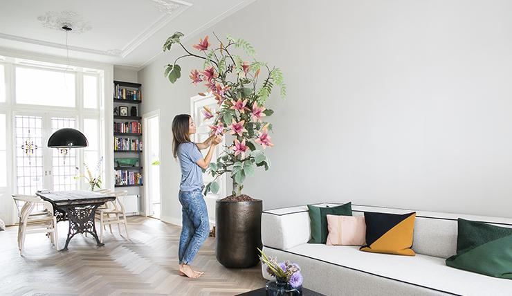 Interieur Design Woonkamer : Blij eindelijk weer een boom in mijn woonkamer interior junkie