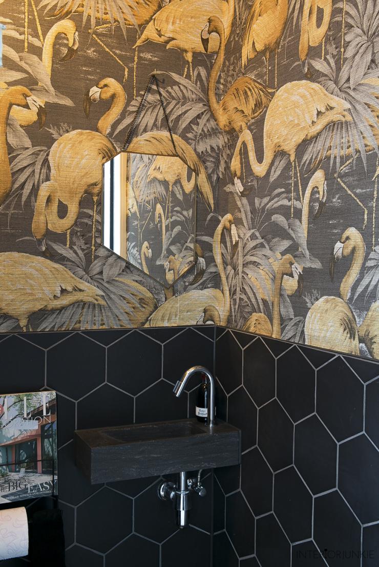 Een kijkje in mijn toilet vol flamingo's