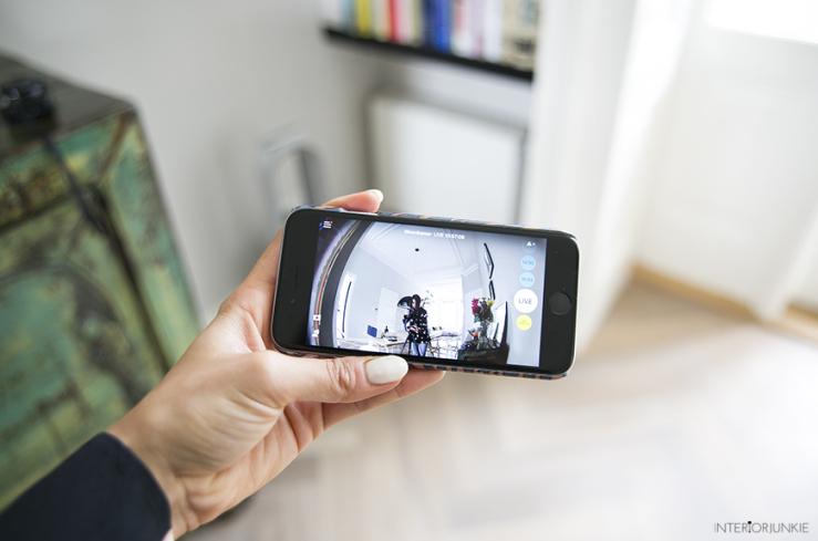 Je huis in de gaten houden kan met deze camera