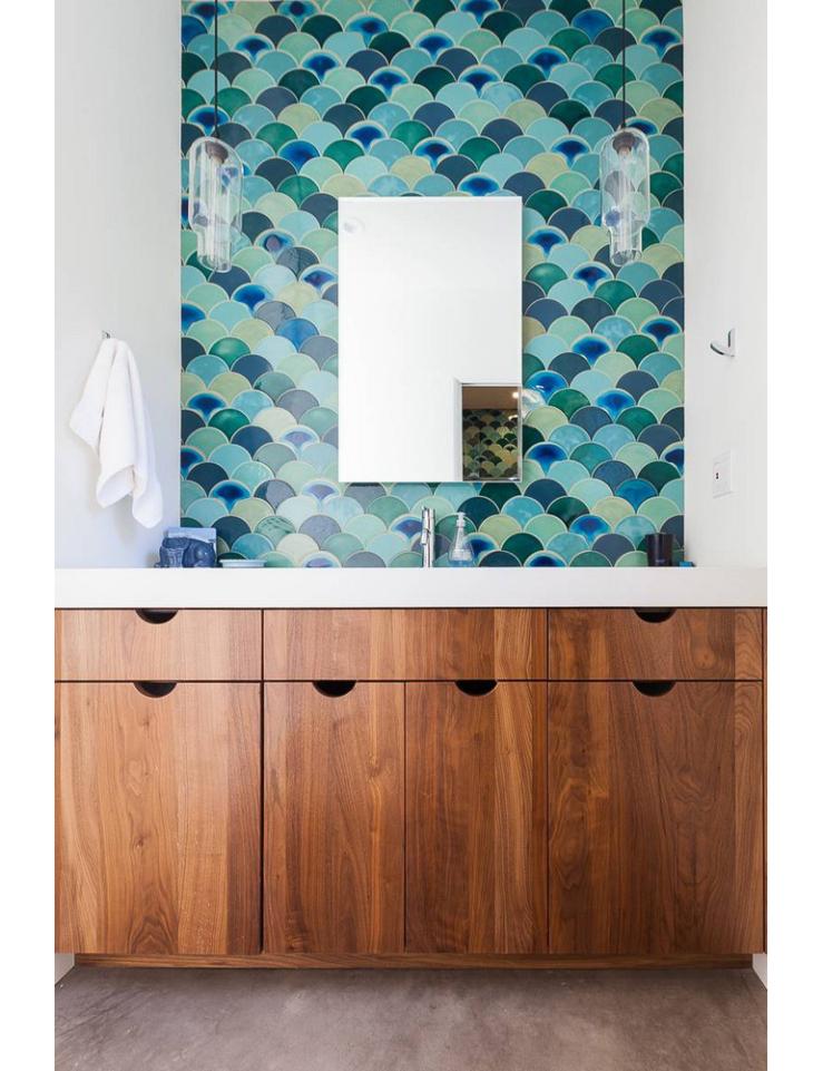 Hout in de badkamer? Bij deze tips!