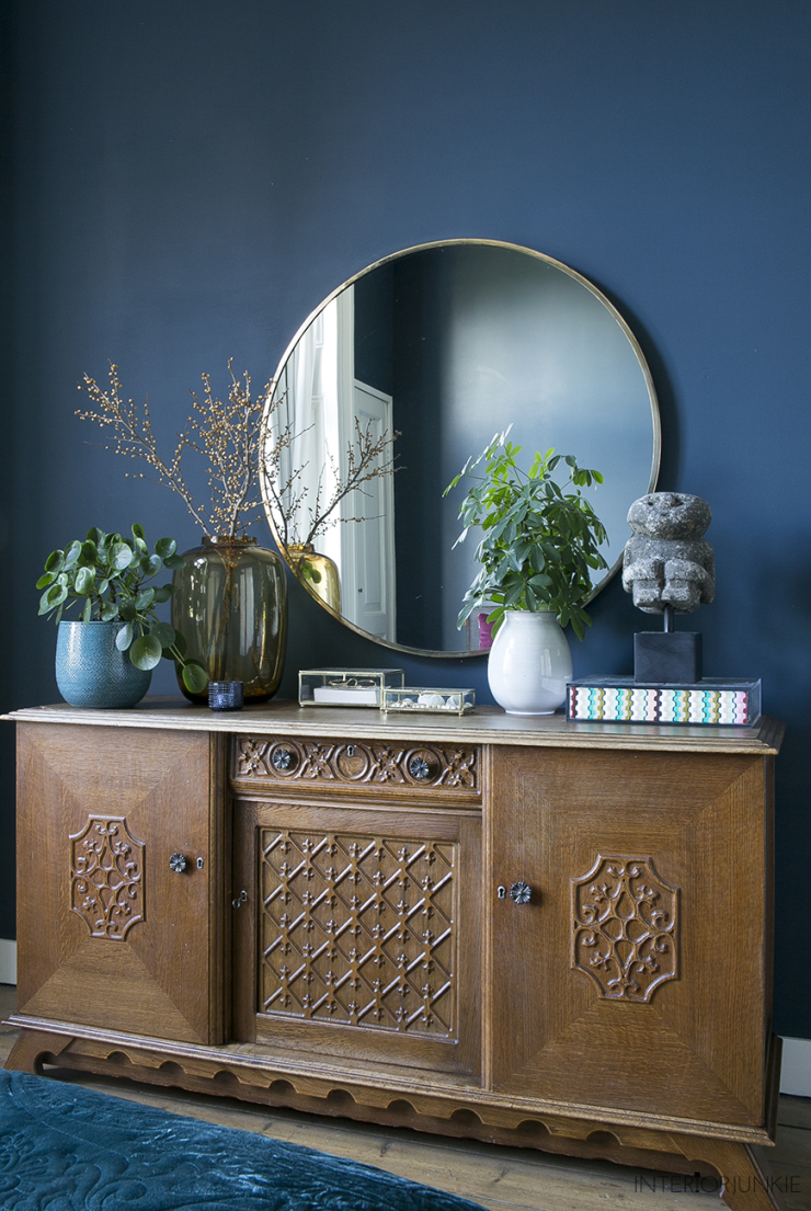 A touch of gold in je interieur