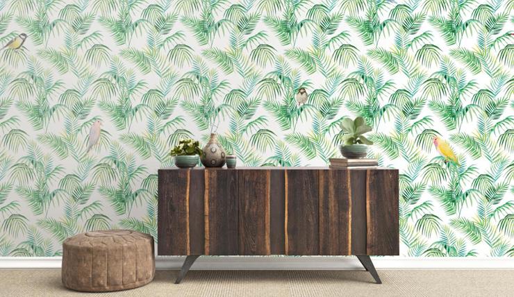Behang Met Afbeelding.Verliefd Op Het Zoete Behang Van Fleur Des Fleurs Interior Junkie