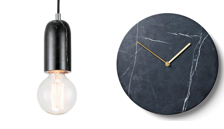 8x Hanglampen Inspiratie : Onmisbare items van marmer in huis interior junkie