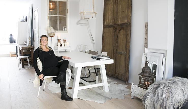 Huizentour Bij Blogger Sanne Van Stijl Interior Junkie