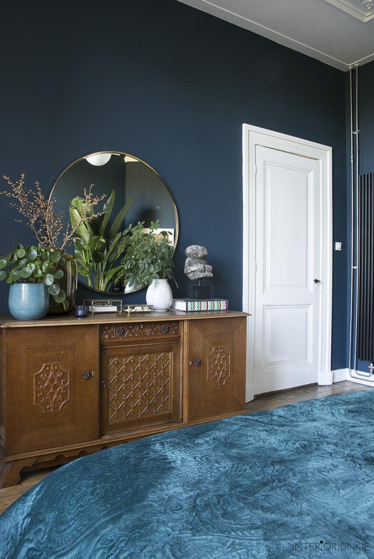 Zo style je een ronde spiegel in huis - INTERIOR JUNKIE