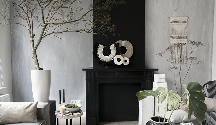 DIY: zo creeer je gemakkelijk een betonlook muurtje - INTERIOR JUNKIE