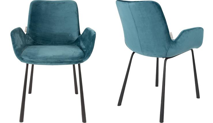 Fluwelen Stoel Groen : Het is heerlijk natafelen in deze fluwelen stoel interior junkie