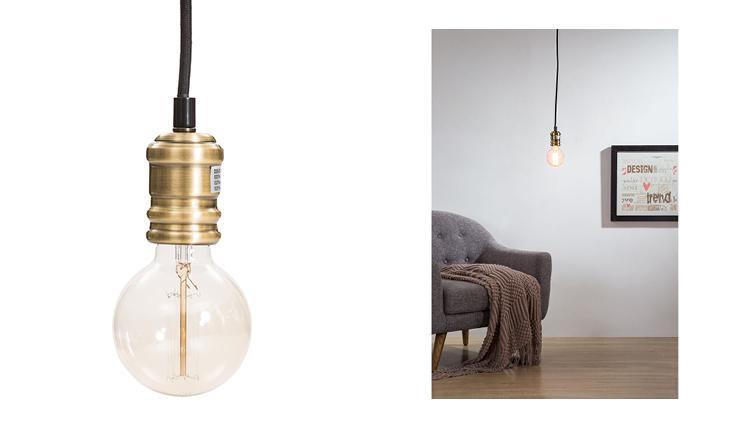 Deze hanglamp voelt zich thuis in een industrieel interieur