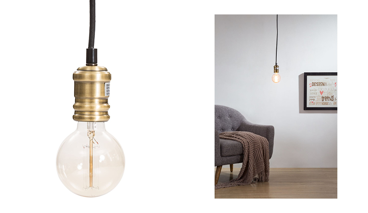 Deze hanglamp voelt zich thuis in een industrieel interieur ...