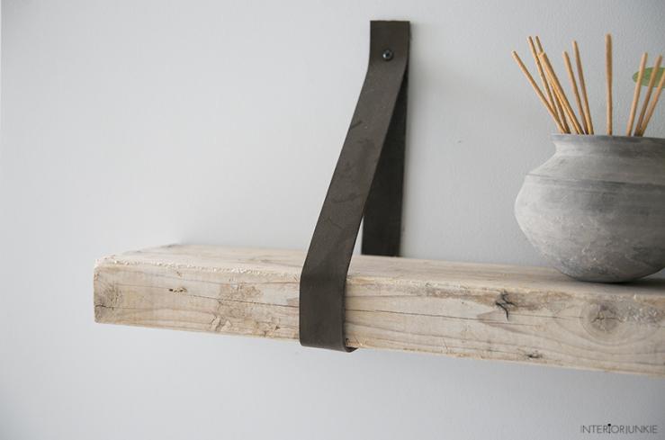 Plank Aan Wand.Plank Gevonden Maak Er Een Wandplank Van Interior Junkie