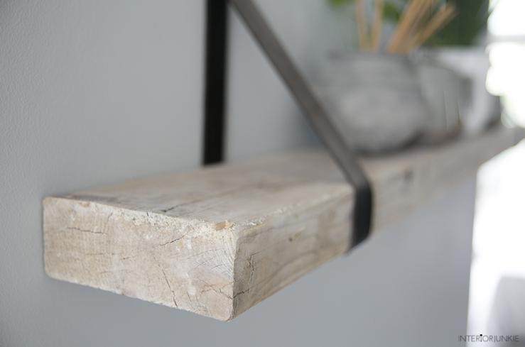 Plank gevonden? Maak er een wandplank van!