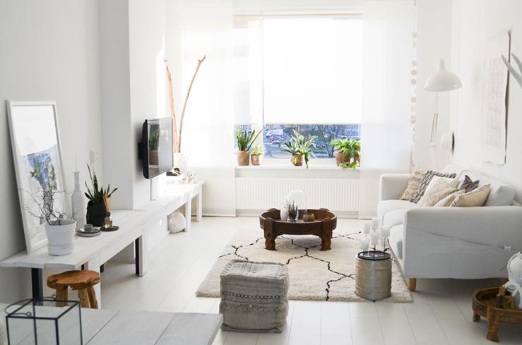 Interieur inspiratie thuis in het compacte huis van dewi