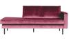 roze fluweel bank