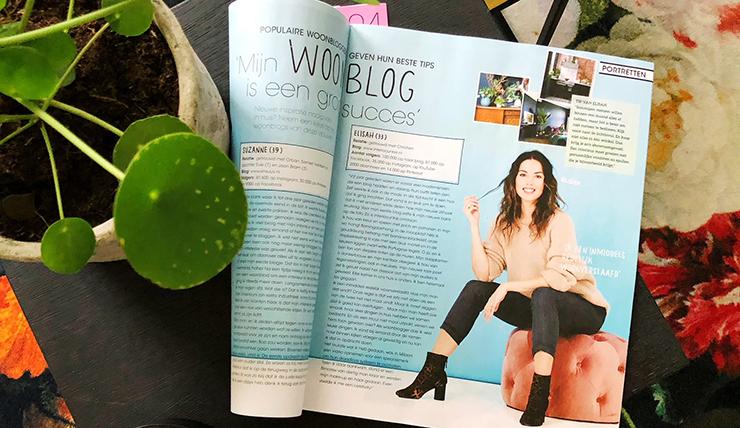 Ik sta in Vriendin over m'n job als fulltime blogger