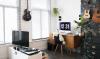 Werken in de woonkamer? Zo style jij je werkplek