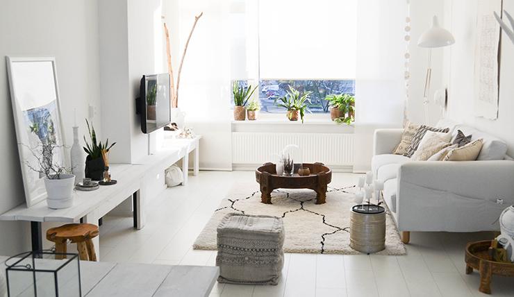 Woonkamer inspiratie zo cre er je ruimte in een klein for Huis en inrichting inspiratie