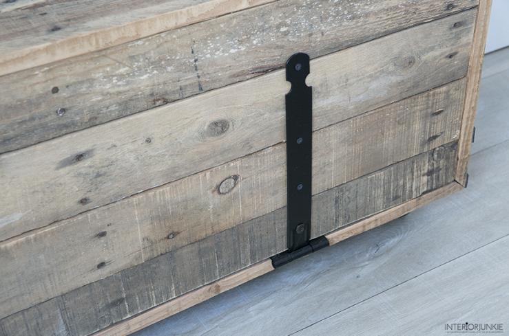 DIY met pallets: maak er een televisiemeubel van