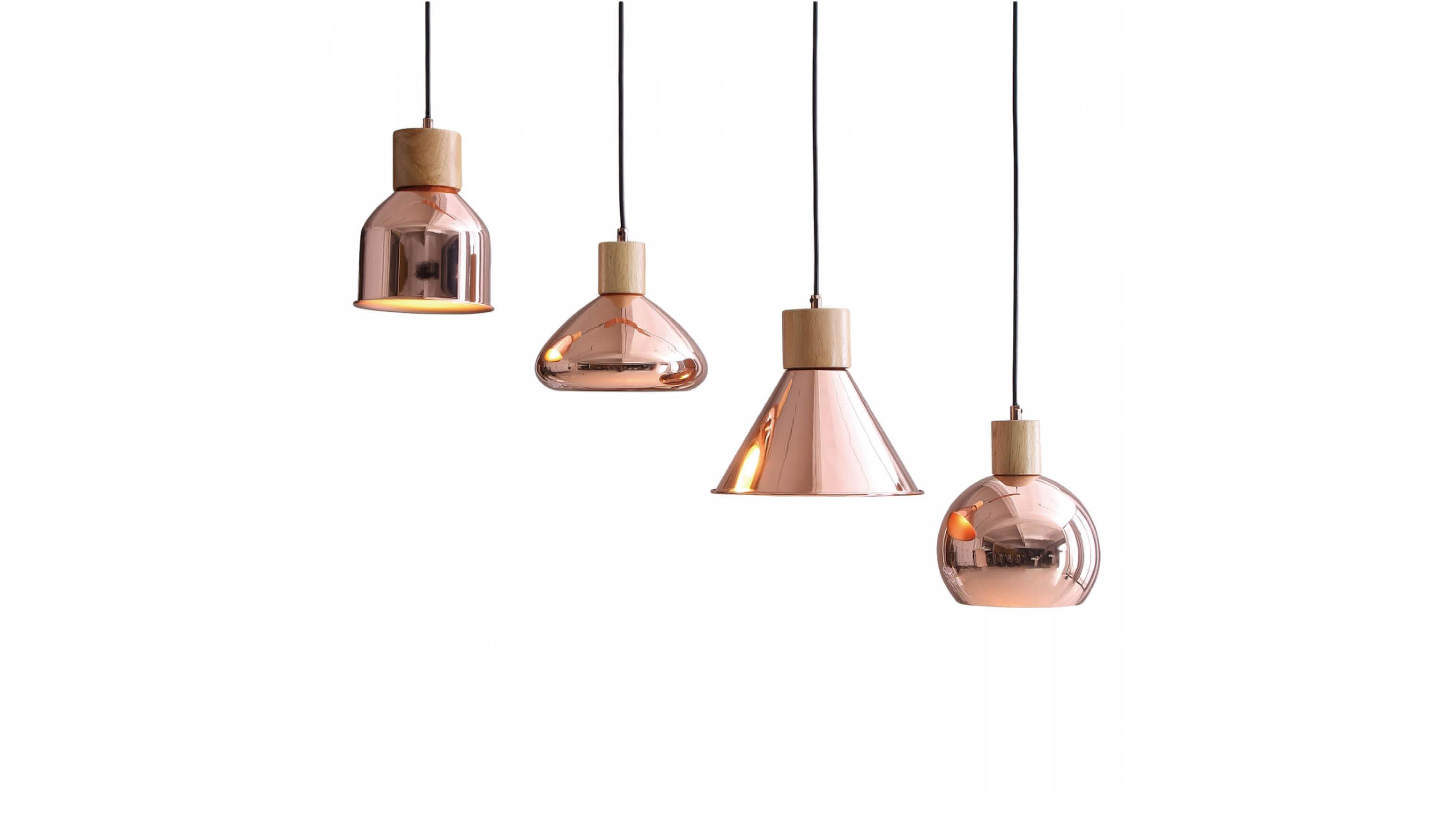 Geef je interieur meer pit met deze koperen hanglampen interior