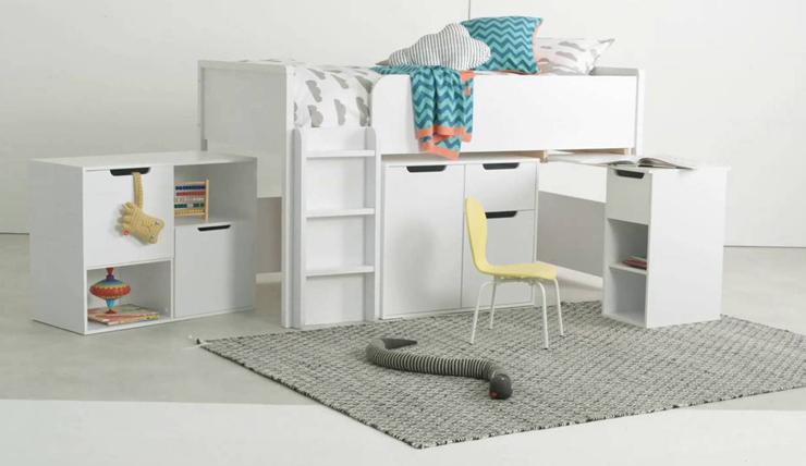Kinderkamer Met Hoogslaper.Multifunctionele Hoogslaper Voor In De Kinderkamer Interior Junkie