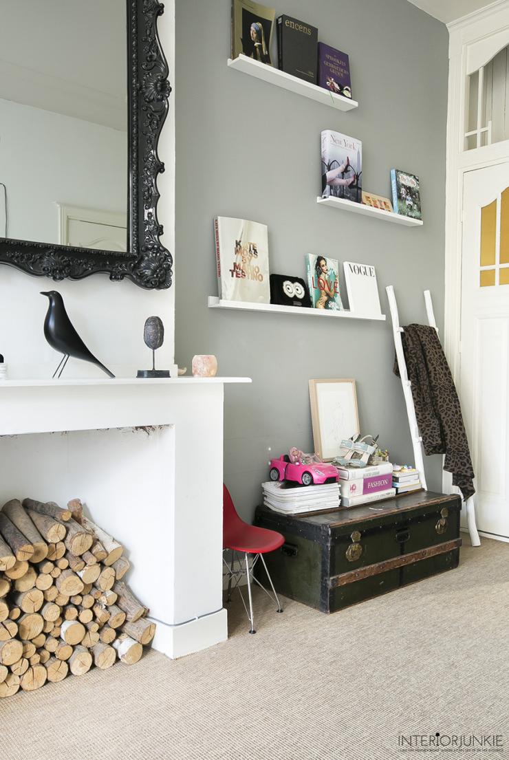 Interieur inspiratie in het huis vol kunst van Florine Duif