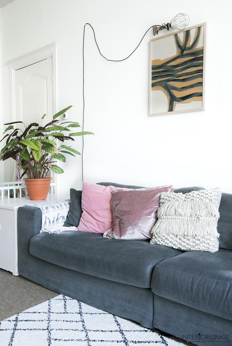 73b8457cdfc1ca Muur inspiratie: tips om kunst te verwerken in huis - INTERIOR JUNKIE