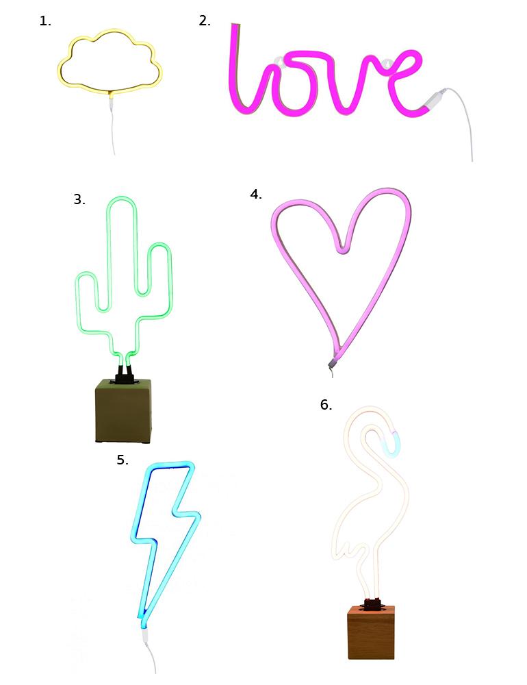 Wooninspiratie: verliefd op neon lampen - INTERIOR JUNKIE