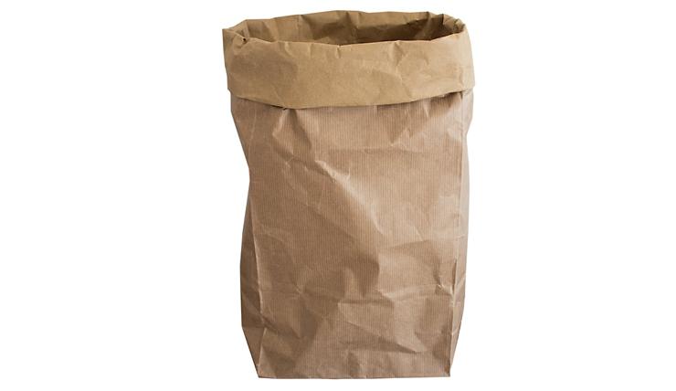 De Papieren Zak : Doe eens gek en kies voor een papieren zak als pot interior junkie