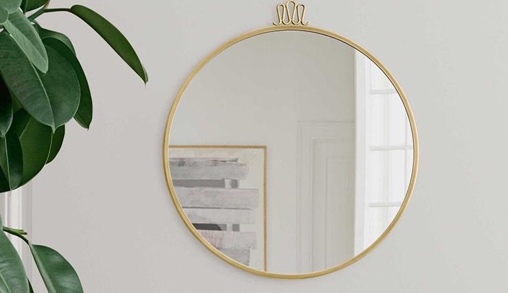 Grote Ronde Spiegel : Grote ronde spiegel nathan een muurdecoratieobject op pib