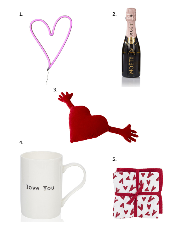 valentijns shopping