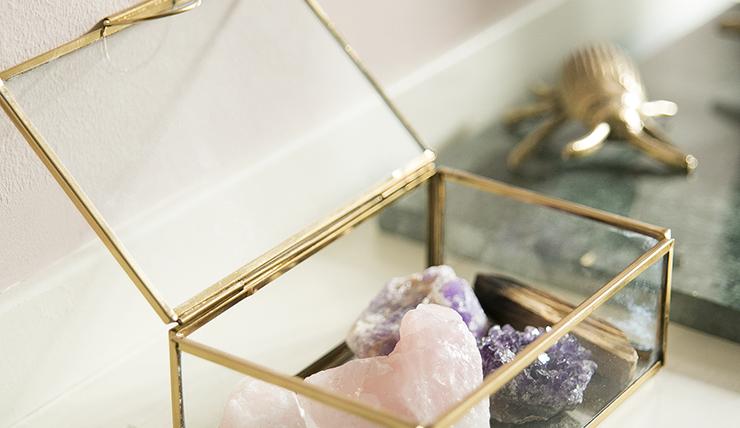 Wooninspiratie: style je huis met edelstenen en kristallen