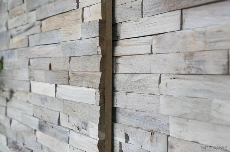 Wooninspiratie: zo maak je gemakkelijk een wand van hout