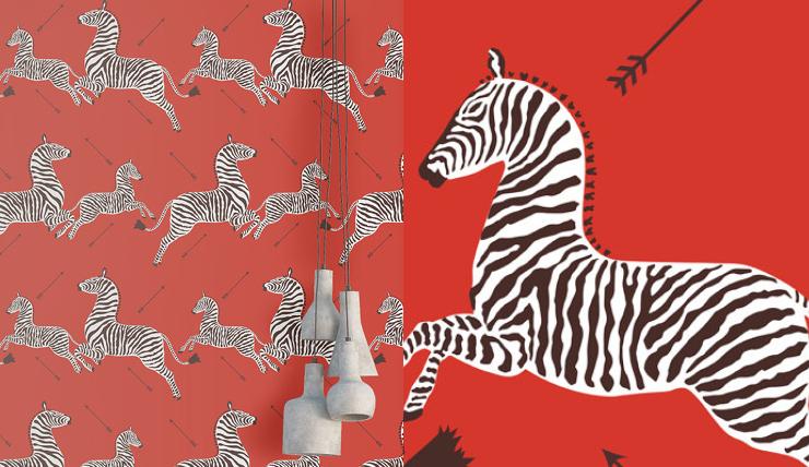 Zebra Print Behang.Doe Eens Gek En Kies Voor Zebra Behang Interior Junkie