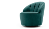 In de wolken door deze fluwelen fauteuil