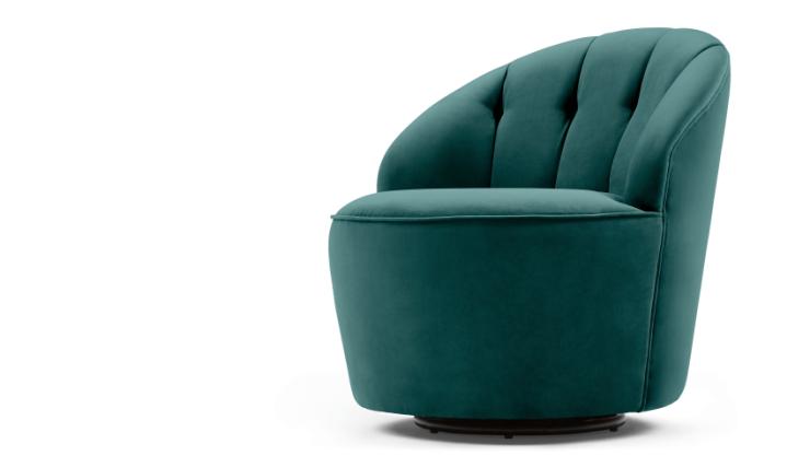Oud Roze Fauteuil : In de wolken door deze fluwelen fauteuil interior junkie