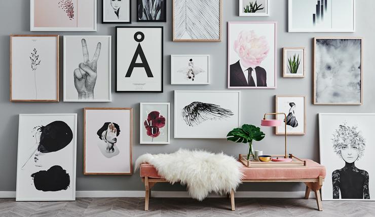 Foto Op De Muur.Muur Inspiratie Tips Voor Betaalbare Kunst Interior Junkie
