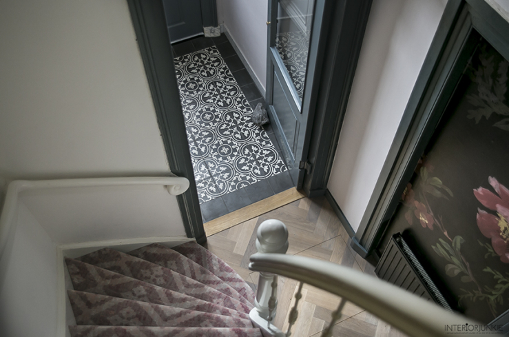 Portugese Tegels Toilet : Mijn hal pimpen met portugese tegels interior junkie