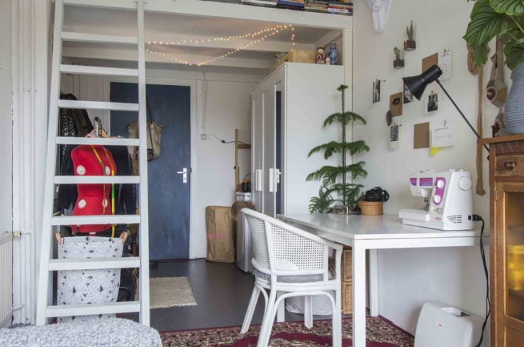 Studentenkamer inspiratie van Sanne uit Groningen