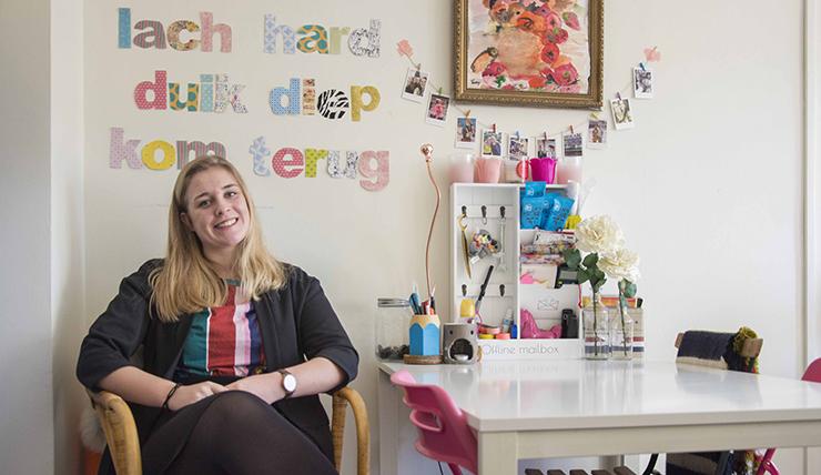 Studentenkamer inspiratie van Sonja uit Groningen