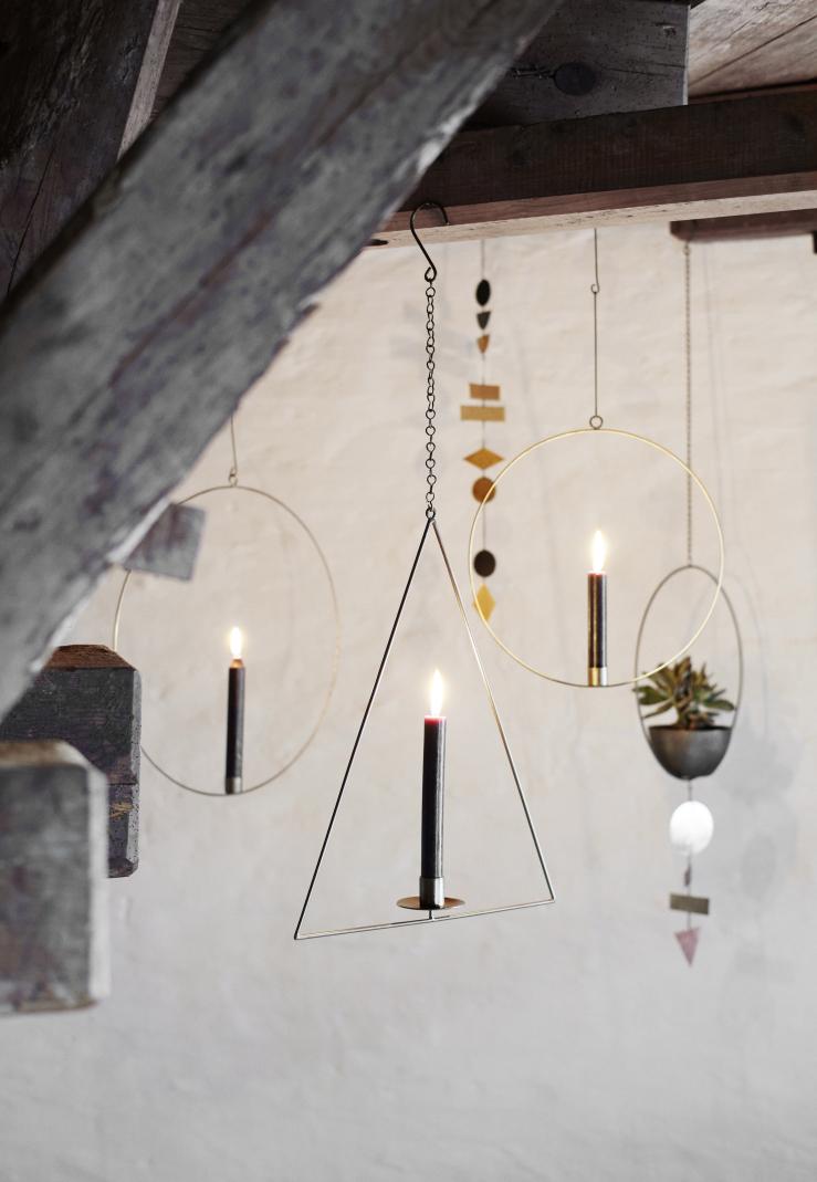Triangle Candleholder Hanging Decoration
