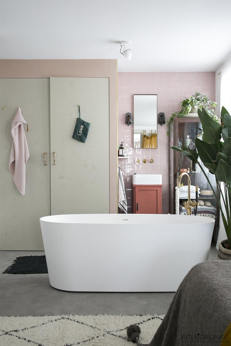 Badkamer inspiratie nodig? Maak een open badkamer - INTERIOR JUNKIE
