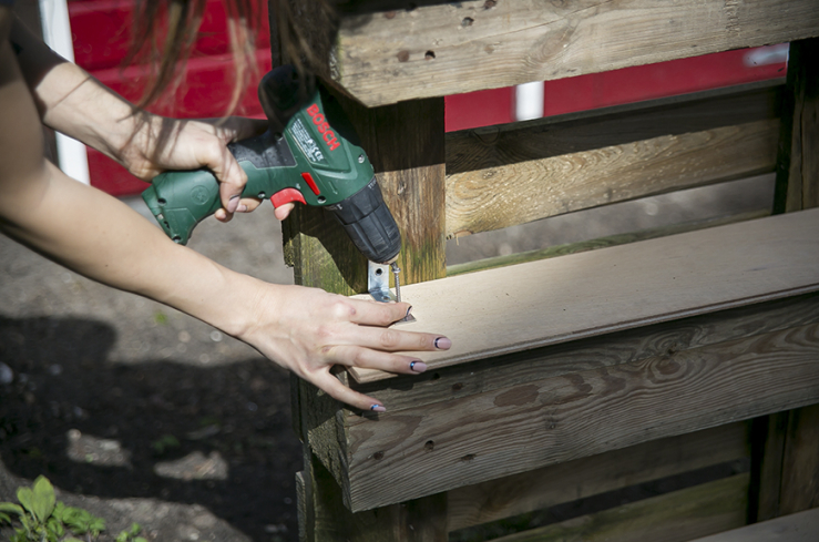 DIY met pallets: maak je eigen kruidentuintje