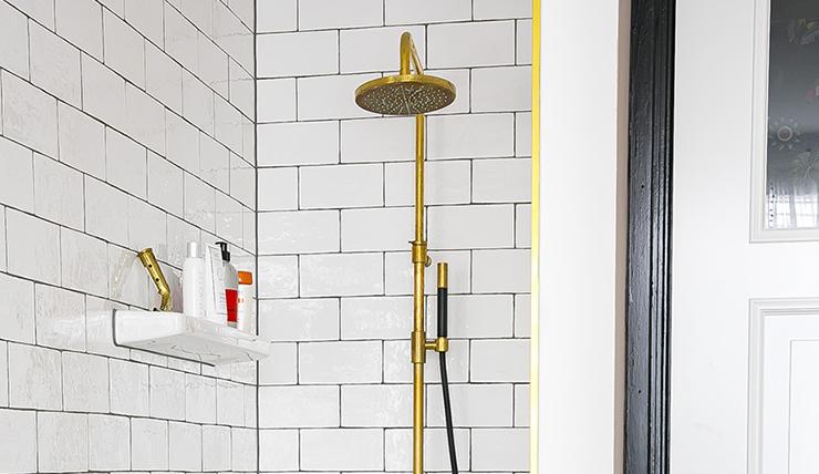 Douche pimpen? Kies voor een gouden douche