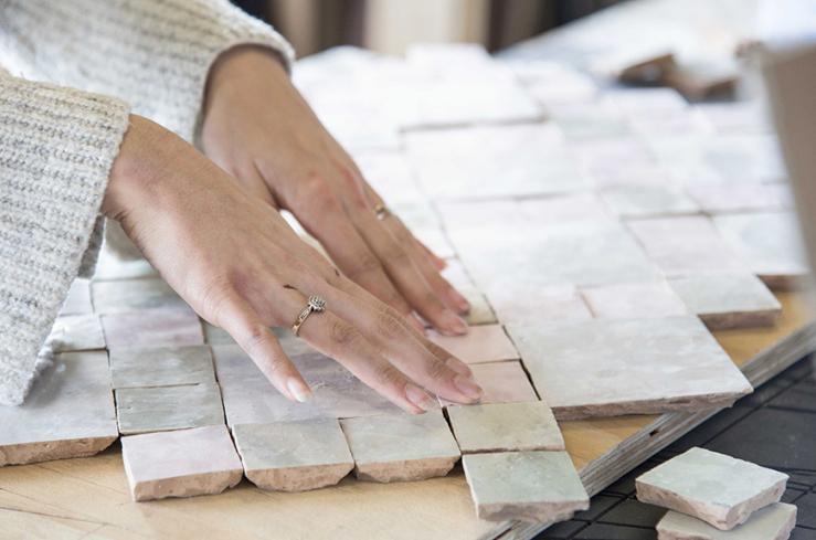 Marokkaanse Tegels Kopen : Moroccan tiles textile design marokkaanse tegels