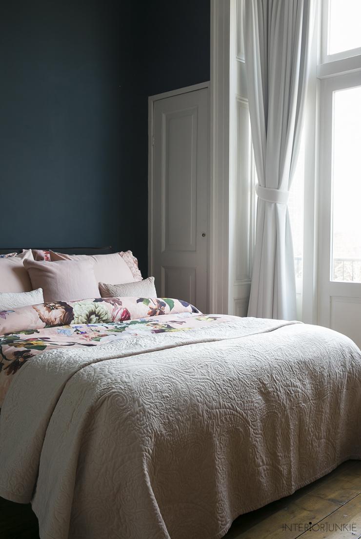 Mijn slaapkamer lenteproof stylen met een zoet dekbedovertrek