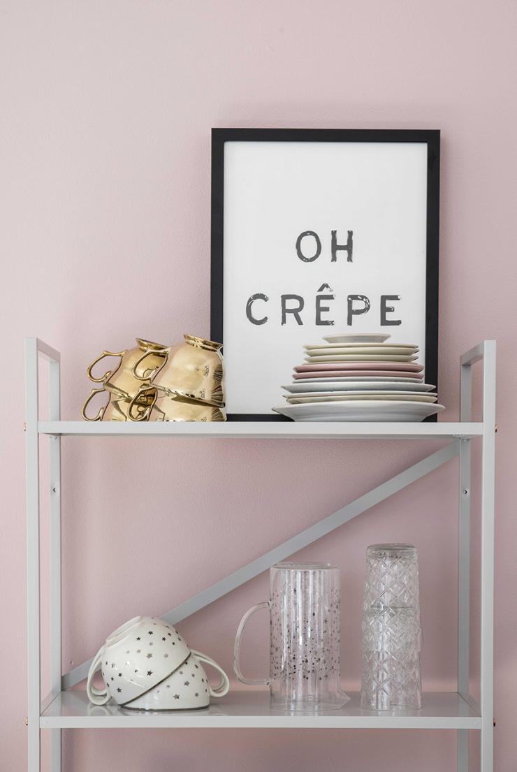 De 'Oh Crêpe' poster kocht ik bij Sissy-Boy.