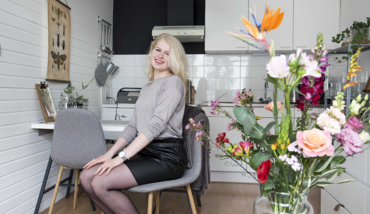 Studentenkamer inspiratie van Myrthe uit Utrecht