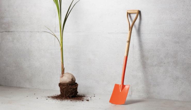 Fijn tuinieren met deze klassieke tuinschep