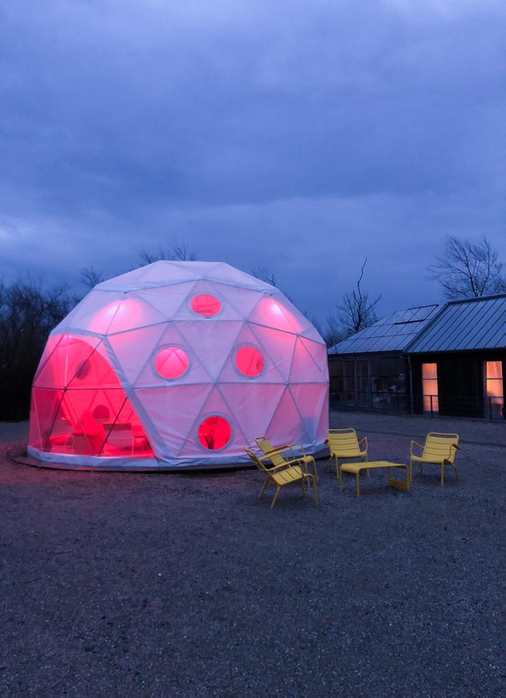 Glampen op Texel @ Camp Silver