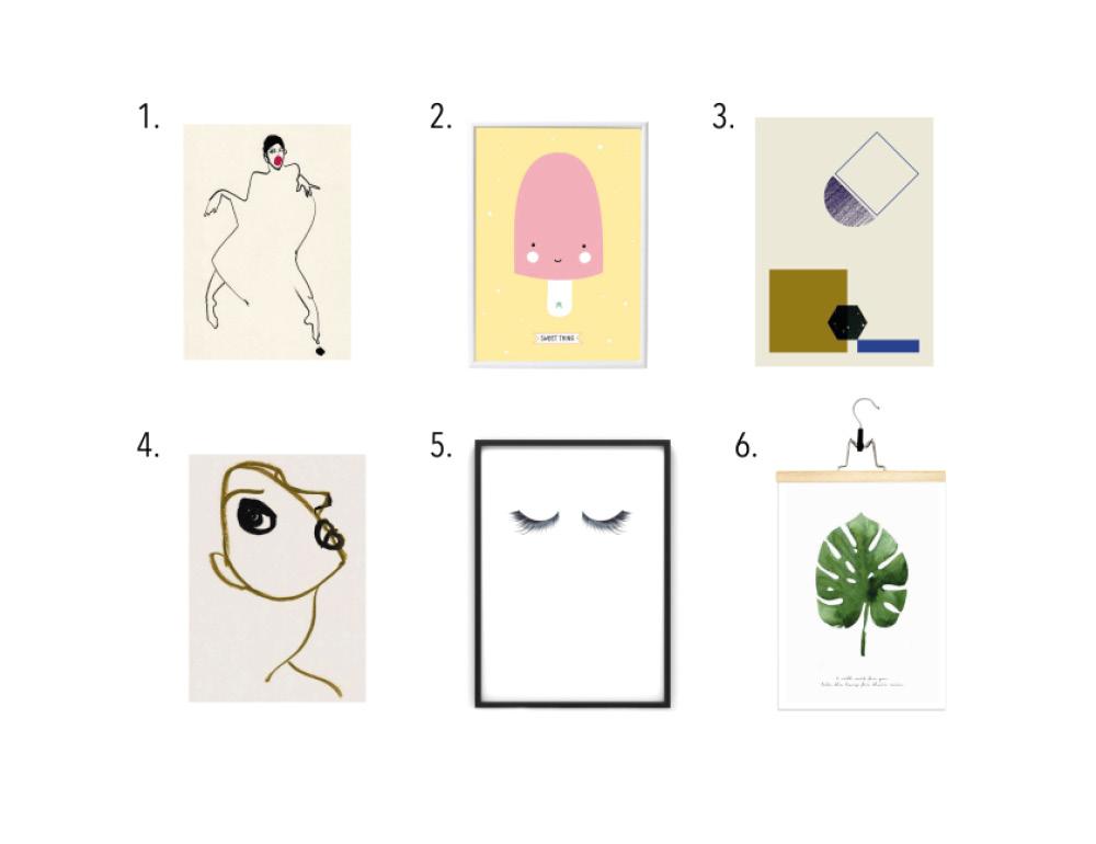 Voor aan de muur: 6x de tofste prints - INTERIOR JUNKIE